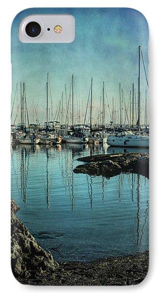 Marina - Digitally Textured IPhone Case by Marilyn Wilson