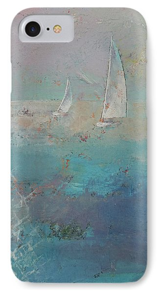 Sailboats IPhone Case by Michael Creese