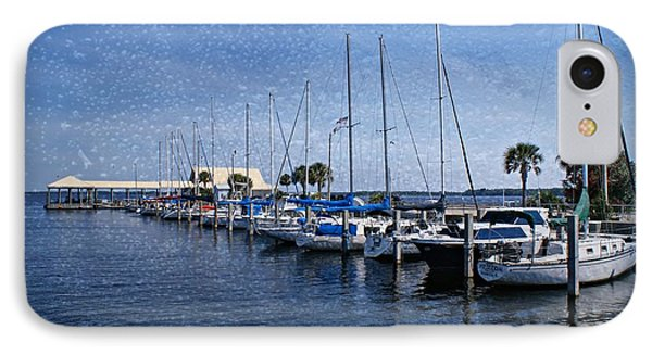 Sailboats Phone Case by Sandy Keeton