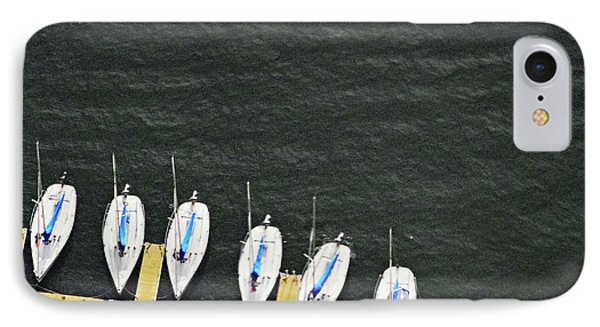 Sailboats IPhone Case by Sandy Taylor