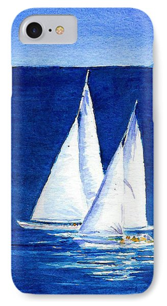 Sailing IPhone Case by Anne Marie Brown