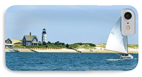 Sailing Around Barnstable Harbor IPhone Case by Charles Harden
