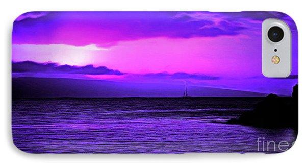 Sailing Away IPhone Case by Krissy Katsimbras