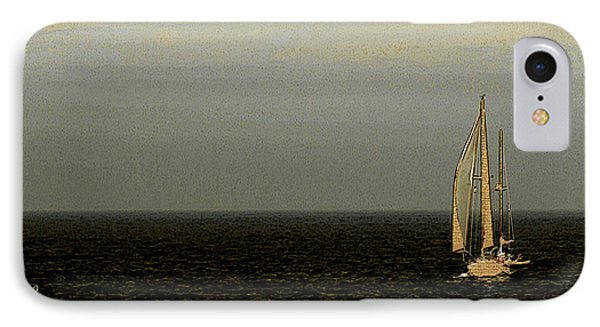 IPhone Case featuring the photograph Sailing by Ben and Raisa Gertsberg