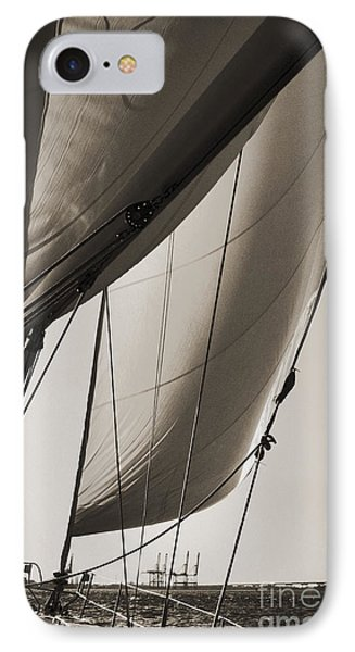 Sailing Beneteau 49 Sloop IPhone Case