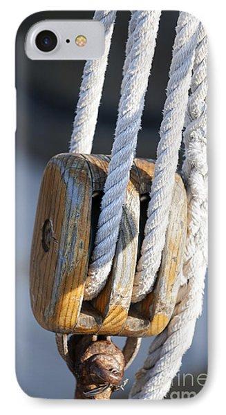 Sailing Block IPhone Case by Elena Elisseeva