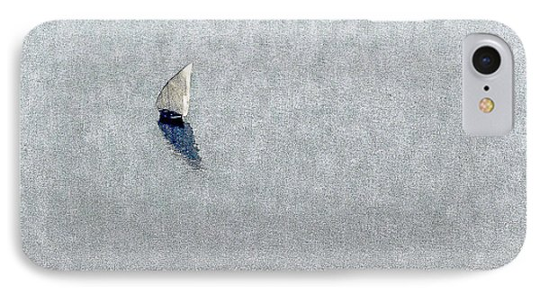 Sailing Boat Lake Victoria IPhone Case by Patrick Kain