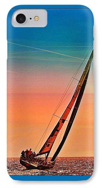Sailing Boat Nautical 3 IPhone Case