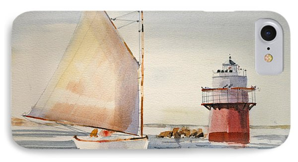 Sailing By Buglight  IPhone Case by P Anthony Visco