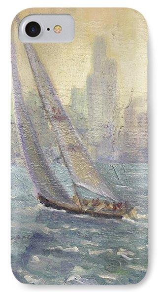 Sailing Chicago IPhone Case