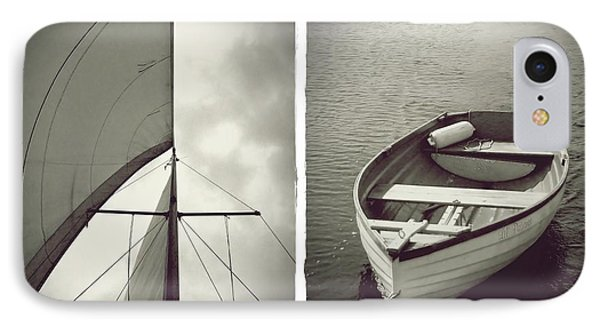 Sailing Diptych IPhone Case by Patricia Strand