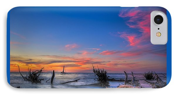 Sailing Hazard IPhone Case by Marvin Spates