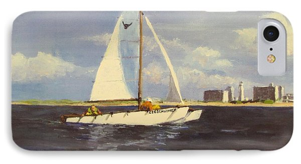 Sailing In The Netherlands Phone Case by Jack Skinner