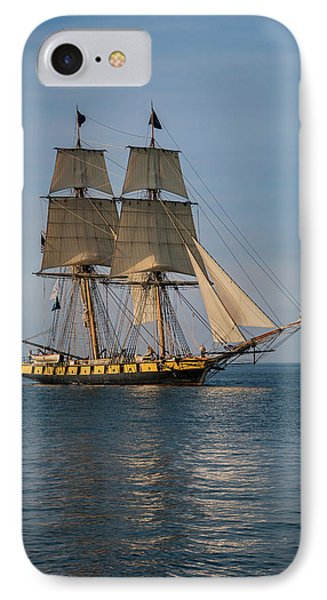 Sailing Into Port IPhone Case by Dale Kincaid