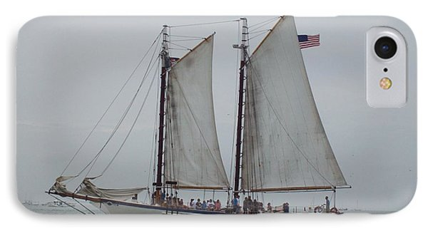 IPhone Case featuring the photograph Sailing Key West  by Nancy Taylor