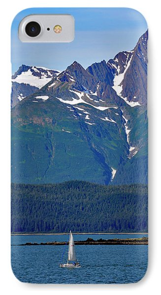 Sailing Lynn Canal IPhone Case