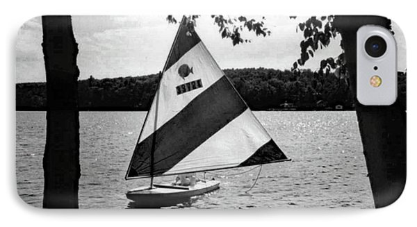 Sailing On Lake Dunmore No. 1-1 IPhone 7 Case by Sandy Taylor