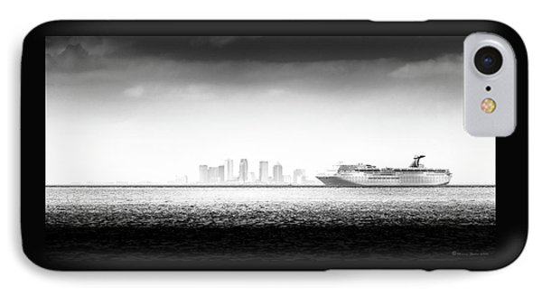 Sailing Out Of Cigar City IPhone Case