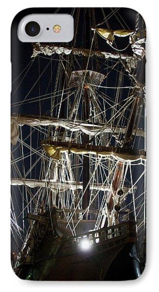 Savannah Sailing Ships Shipping Art IPhone Case