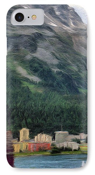 Sailing St Moritz Phone Case by Jeff Kolker