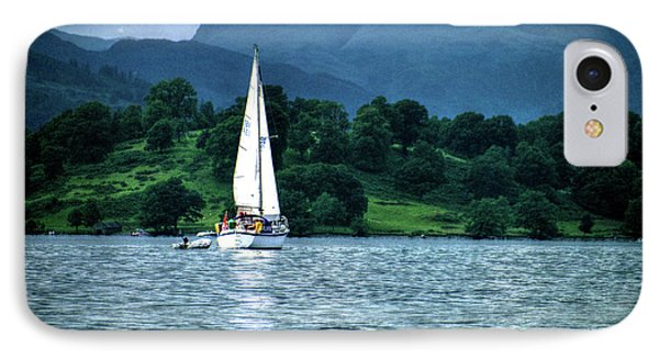 Sailing The Lakes IPhone Case