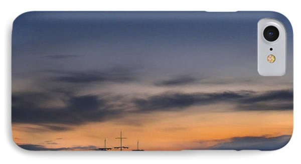 Sailing To The Moon 2 IPhone Case by Mike McGlothlen