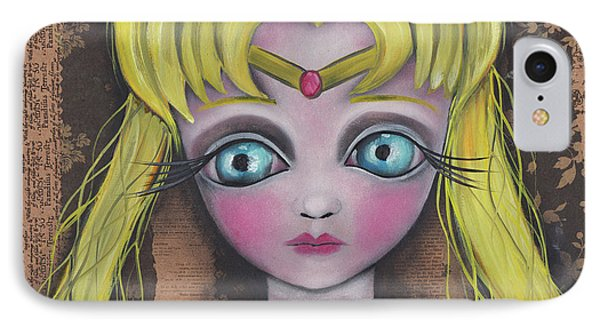 Sailor Moon IPhone Case by Abril Andrade Griffith