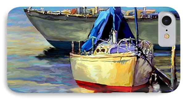 Sails At Rest IPhone Case by David  Van Hulst