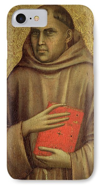 Saint Anthony Abbot Phone Case by Giotto di Bondone