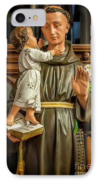 Saint Anthony IPhone Case by Adrian Evans