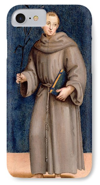Saint Anthony Of Padua IPhone Case by Raphael