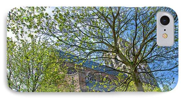 Saint Catharine's Church In Brielle IPhone Case by Frans Blok