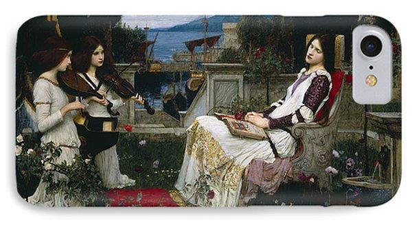 Saint Cecilia IPhone Case by John William Waterhouse