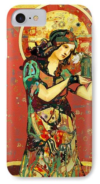 Saint Dymphna IPhone Case