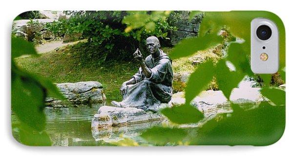 Saint Fiachras Garden  IPhone Case by Martina Fagan