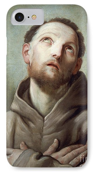 Saint Francis  IPhone Case by Guido Reni