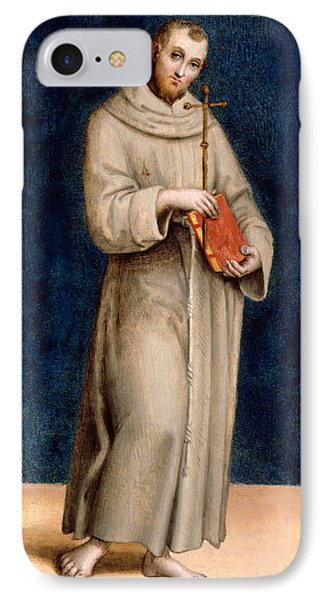 Saint Francis Of Assisi IPhone Case by Raphael
