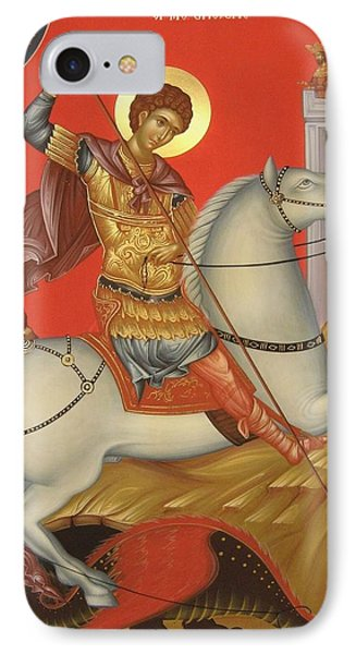 Saint George Phone Case by Daniel Neculae