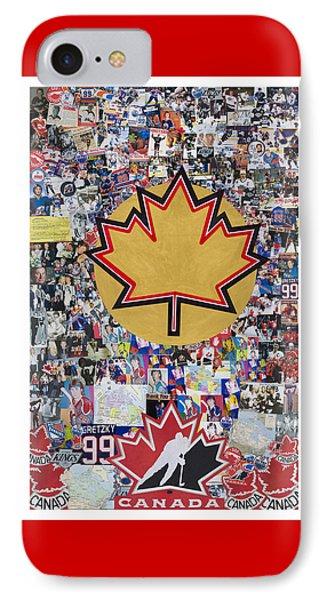 Saint Gretzky Collage IPhone Case