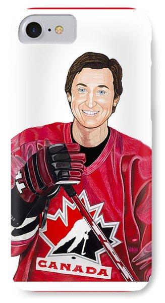 Saint Gretzky Cutout IPhone Case