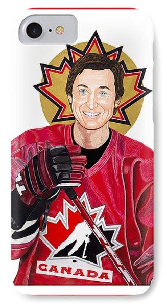 Saint Gretzky Halo Cutout IPhone Case