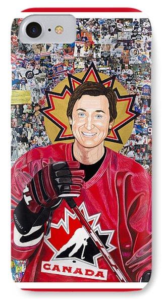 Saint Gretzky IPhone Case