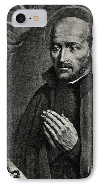 Saint Ignatius Of Loyola IPhone Case by German School