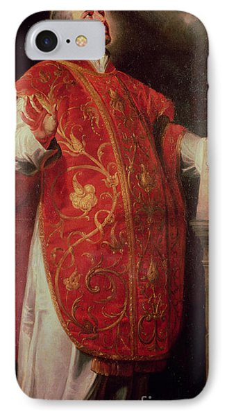 Saint Ignatius Of Loyola IPhone Case by Peter Paul Rubens