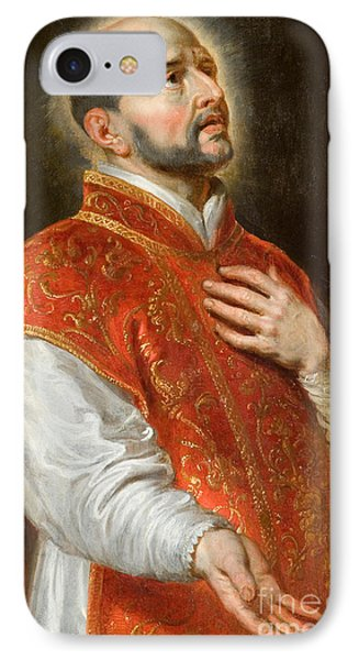 Saint Ignatius IPhone Case by Peter Paul Rubens