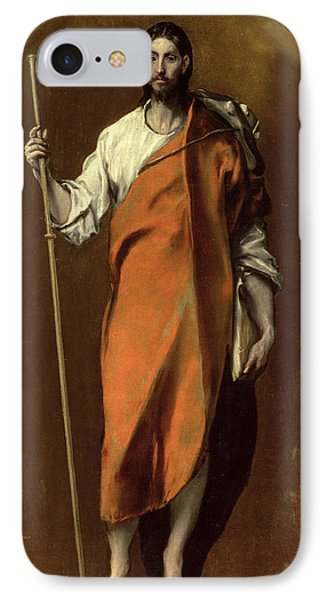 Saint James The Greater IPhone Case by El Greco