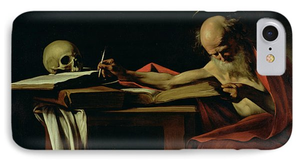 Saint Jerome Writing IPhone Case