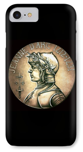 Saint Joan Of Arc IPhone Case by Fred Larucci