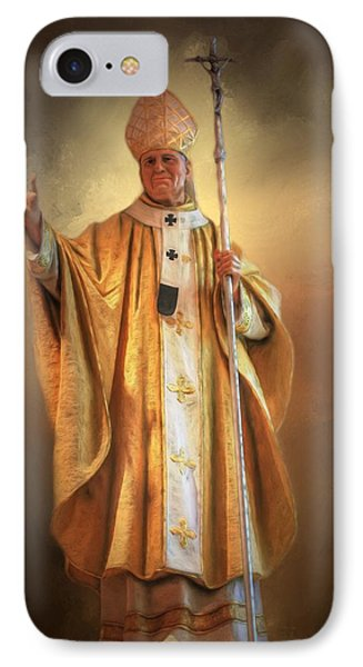 IPhone Case featuring the photograph Saint John Paul The Second by Donna Kennedy