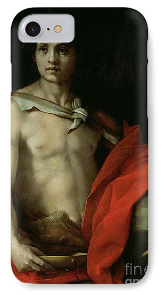 Saint John The Baptist  Phone Case by Andrea del Sarto